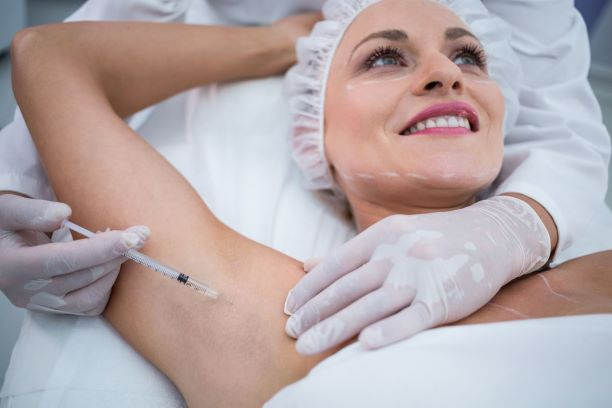 Botox for Sweating treatment