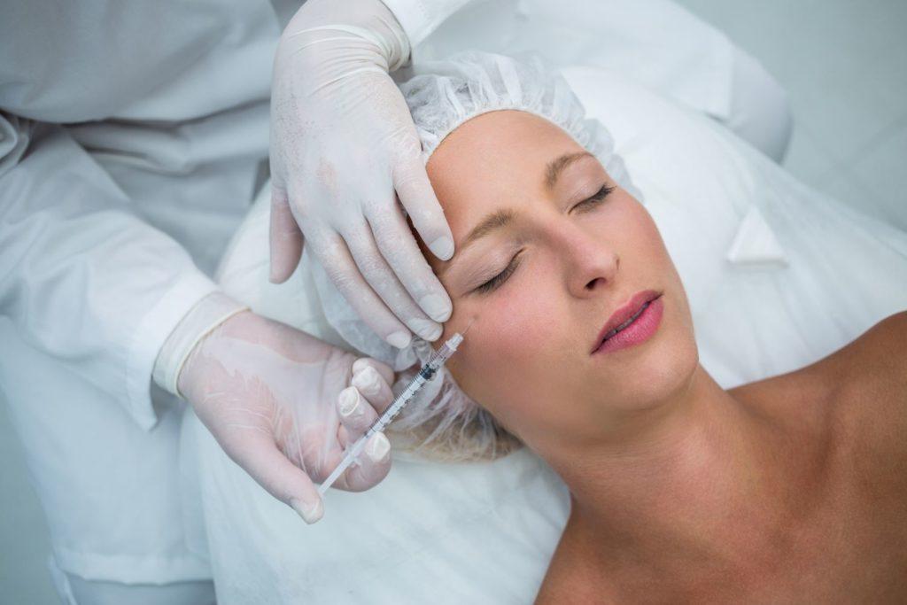 Wrinkle treatment botox