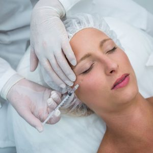 Wrinkle treatment botox